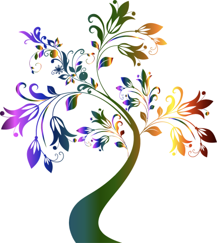 colorful-floral-tree